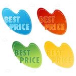 Colourful Best Price Tags